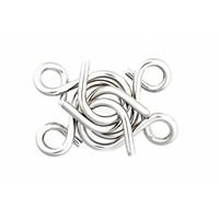 thumb-Mania Puzzels - Paars - 4 metalen breinbrekers in doos-5