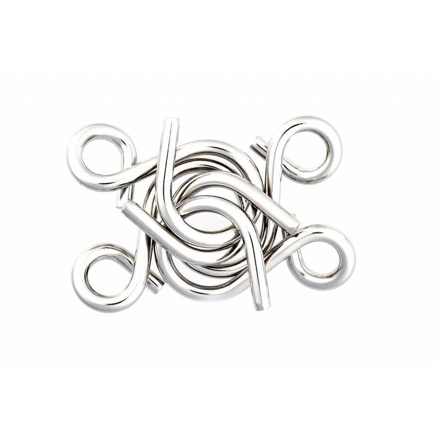 Mania Puzzels - Paars - 4 metalen breinbrekers in doos-5
