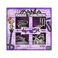 thumb-Mania Puzzels - Paars - 4 metalen breinbrekers in doos-1