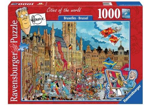 Ravensburger Bruxelles - Fleroux - 1000 pièces