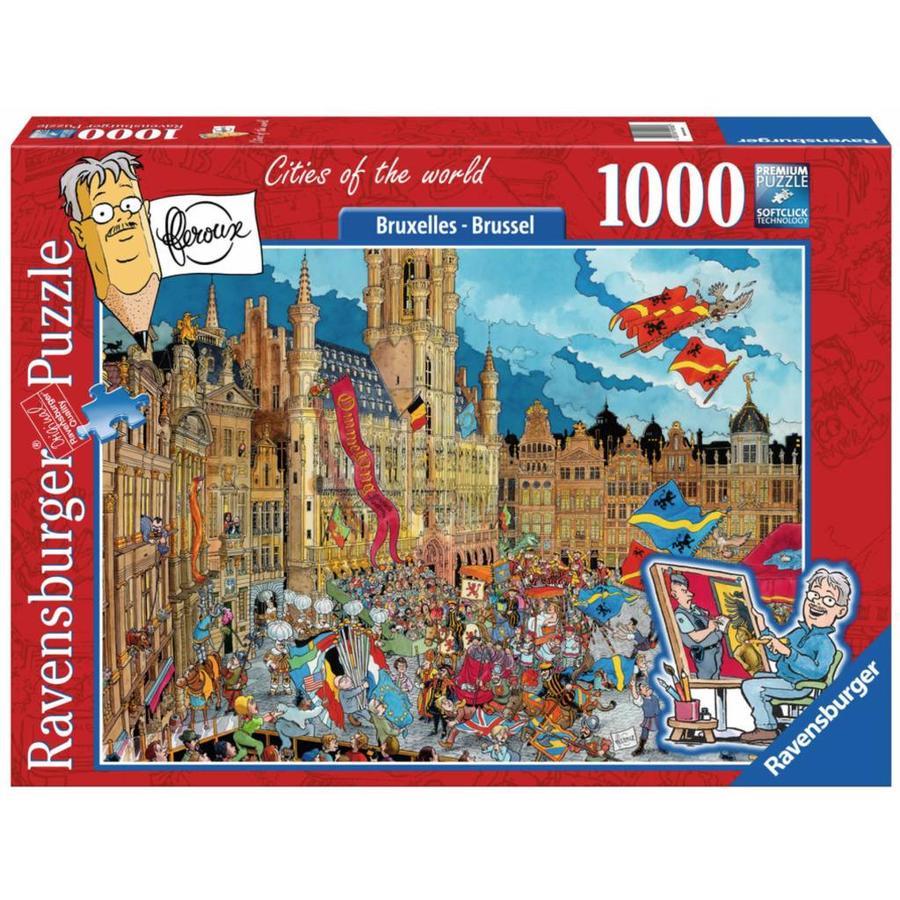 Brussel -Fleroux -  puzzel van 1000 stukjes-1