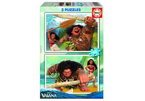 Vaiana - 2 x 48 stukjes