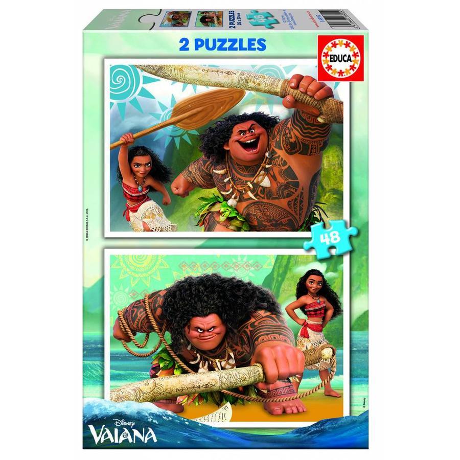 Vaiana - 2 x 48 stukjes-1