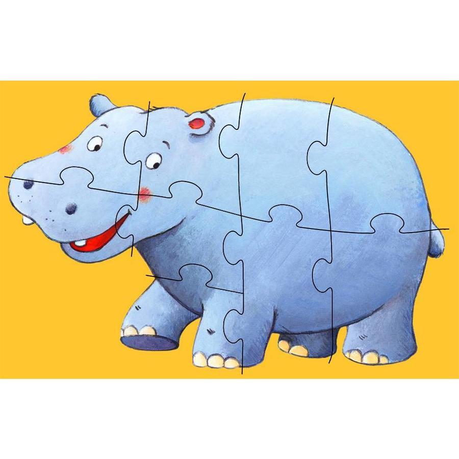 Krul de aap - 6 puzzels - 4, 6 en 9 stukjes-4