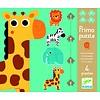 Djeco Diertjes uit de zoo - 4 puzzels - 3, 4, 5 en 6 stukjes