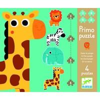 thumb-Diertjes uit de zoo - 4 puzzels - 3, 4, 5 en 6 stukjes-1