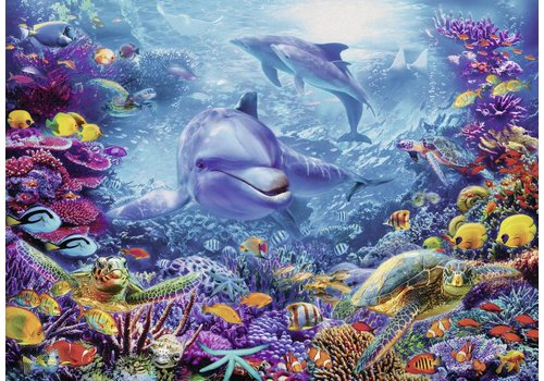 Beautiful underwater world - 1000 pieces