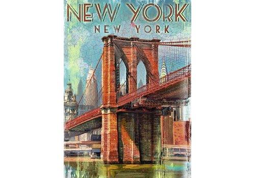 Retro New York - 1000 stukjes