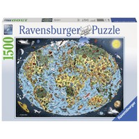 thumb-Colourful earth - puzzle of 1500 pieces-1