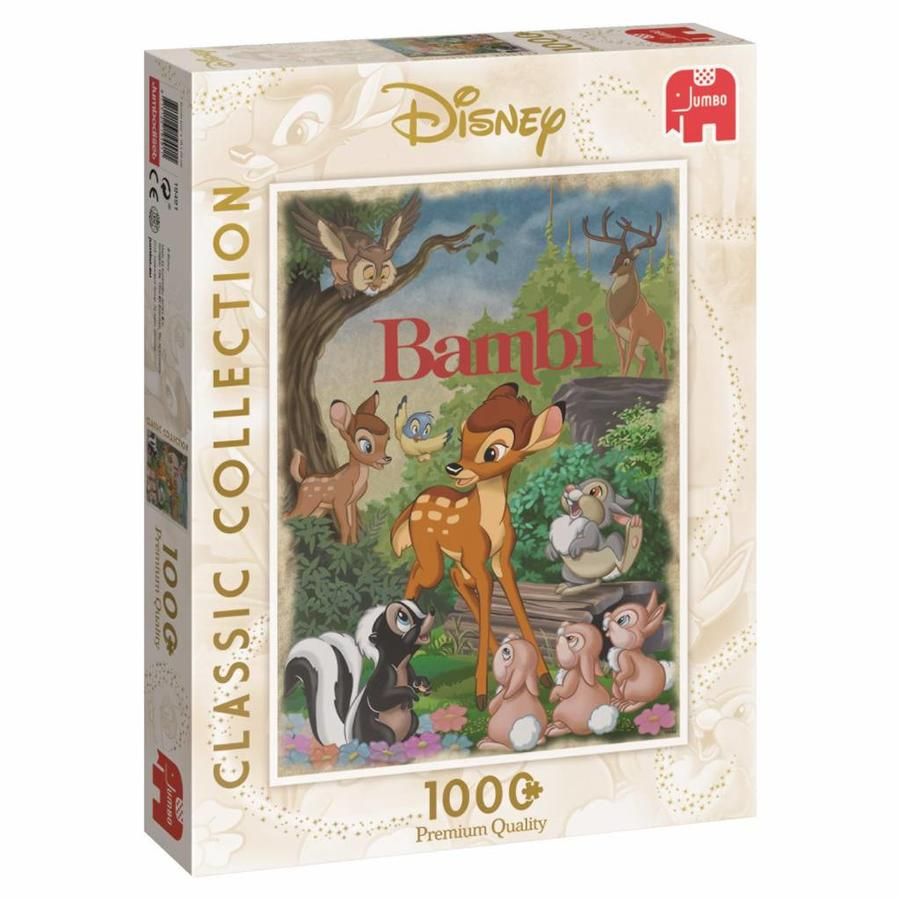 Bambi - puzzel van 1000 stukjes-4