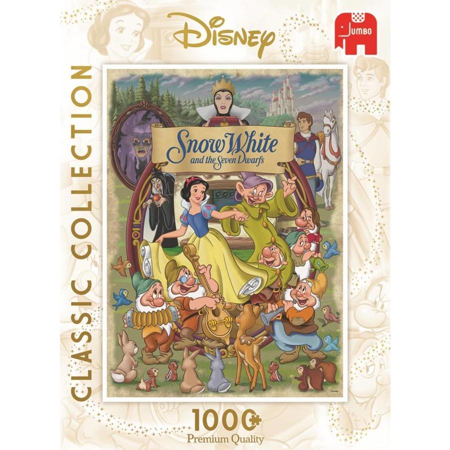 Blanche Neige - 1000 pièces - puzzle-2