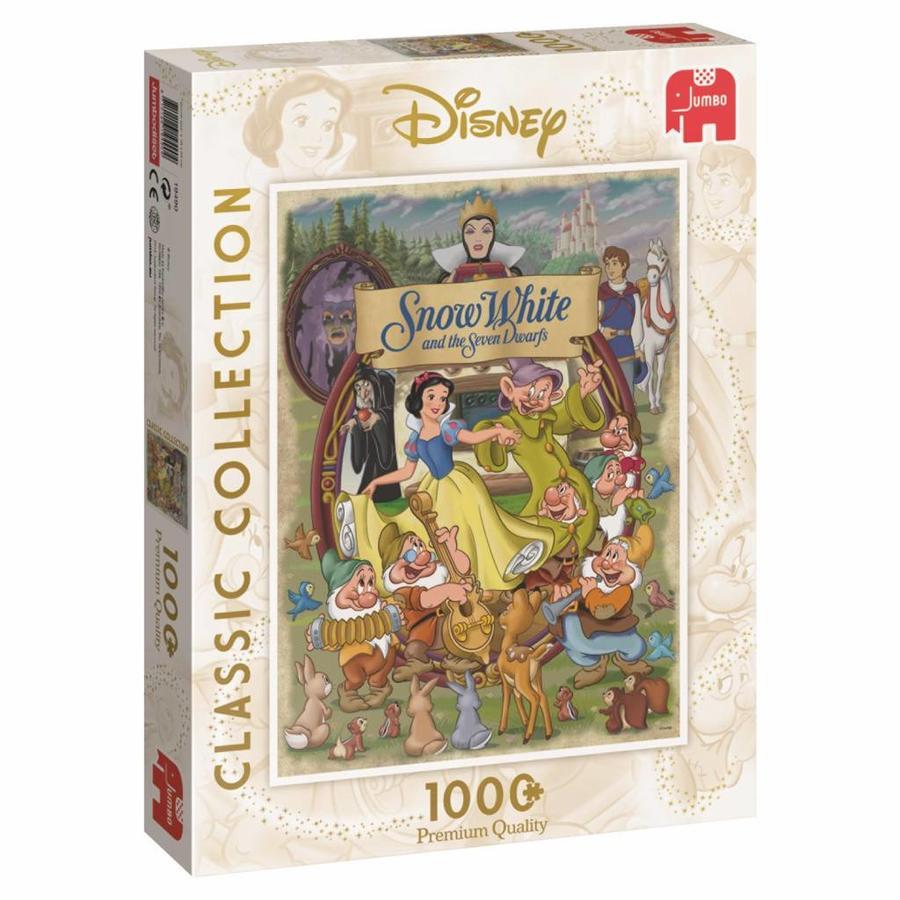 Blanche Neige - 1000 pièces - puzzle-3