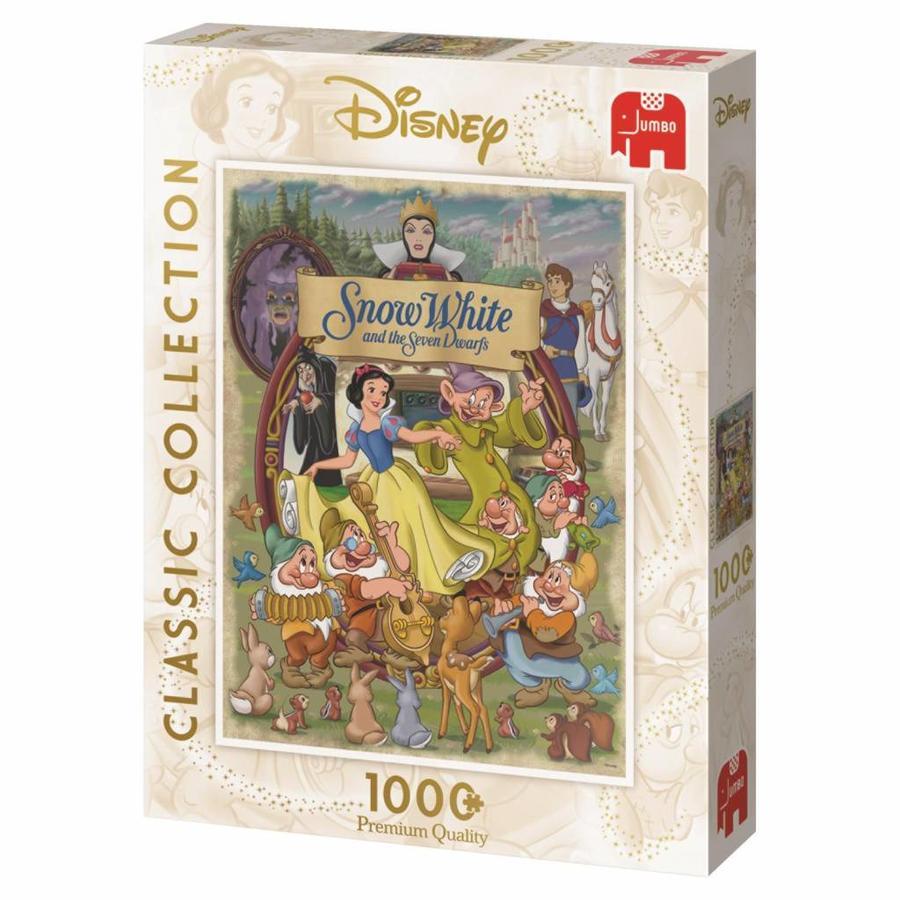 Blanche Neige - 1000 pièces - puzzle-4