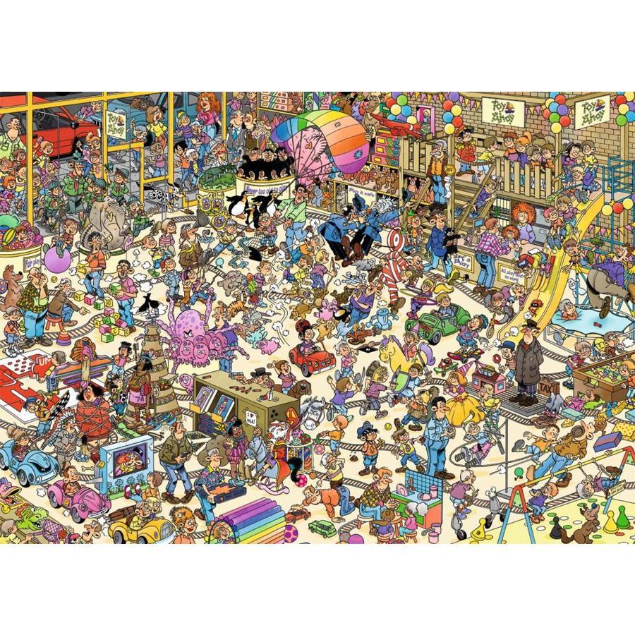 Toy Shop - JvH - 1000 pieces - Jigsaw Puzzle-3