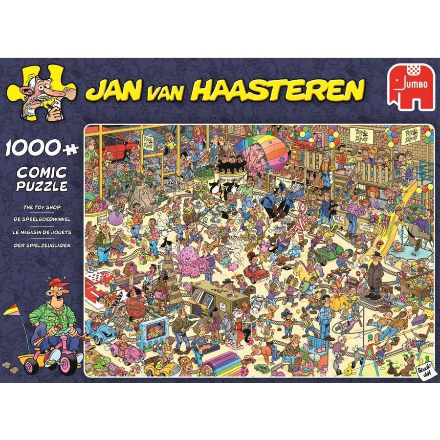 Toy Shop - JvH - 1000 pieces - Jigsaw Puzzle-1