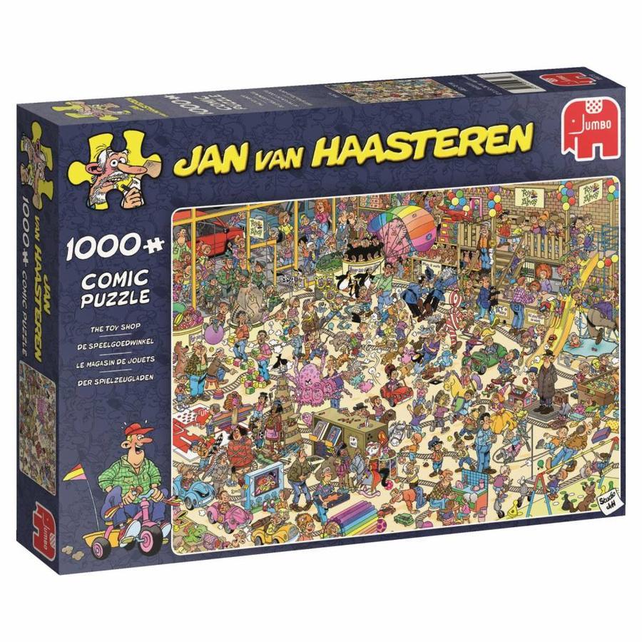 Toy Shop - JvH - 1000 pieces - Jigsaw Puzzle-4