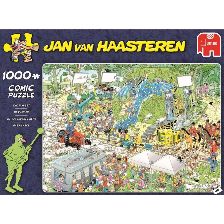 Le plateau du cinéma - JvH - 1000 pièces - puzzle-1