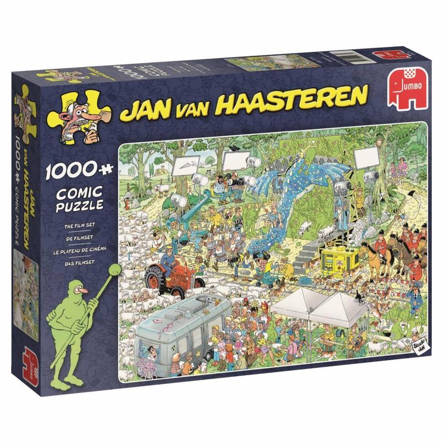 Le plateau du cinéma - JvH - 1000 pièces - puzzle-3