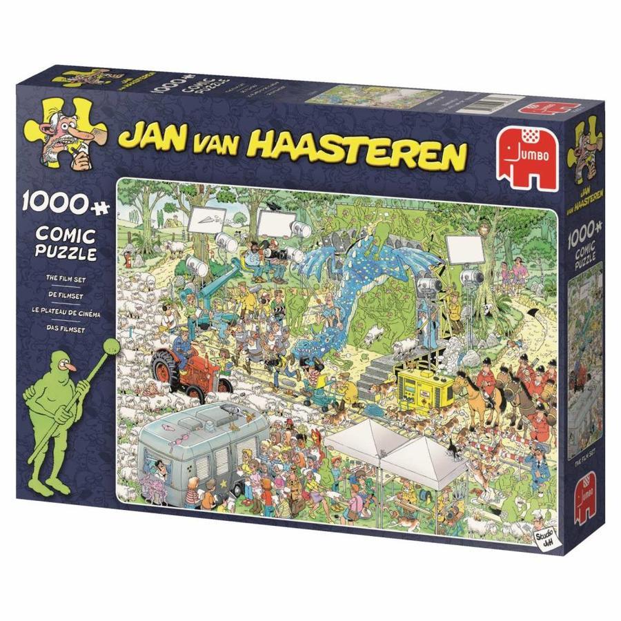Filmset - JvH  - puzzel van 1000 stukjes-4