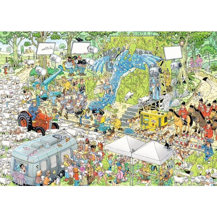 Le plateau du cinéma - JvH - 1000 pièces - puzzle-2