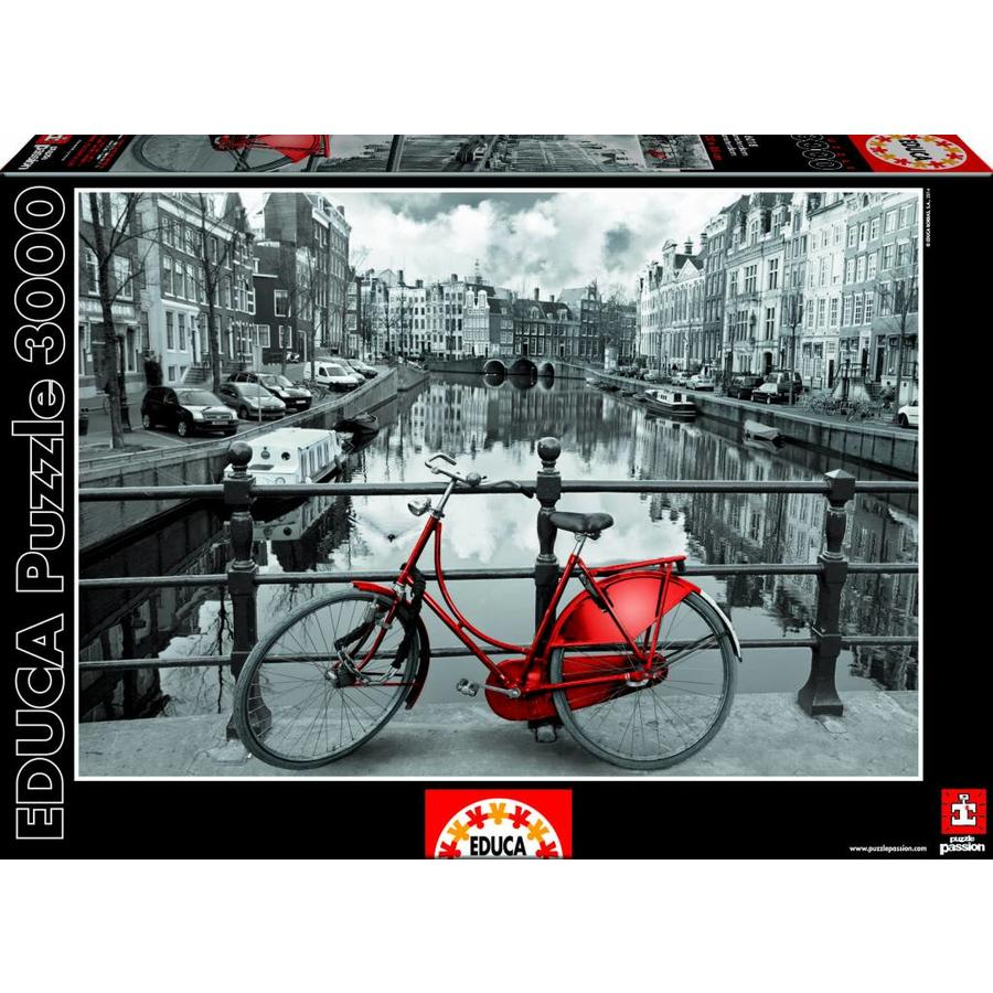 Aan de Amsterdamse grachten - 3000 stukjes-2