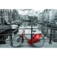 thumb-Aan de Amsterdamse grachten - 3000 stukjes-1
