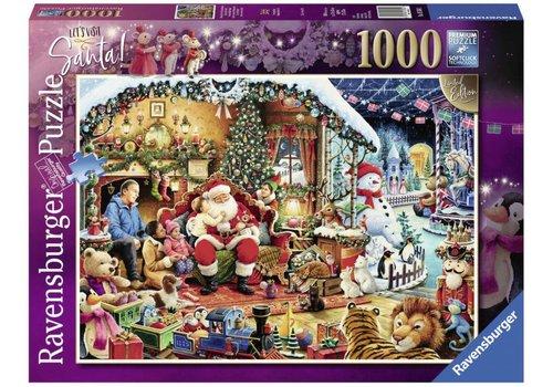 Let's Visit Santa! - 1000 stukjes