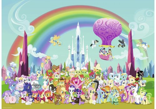 My Little Pony - Under the rainbow - 1000 pieces