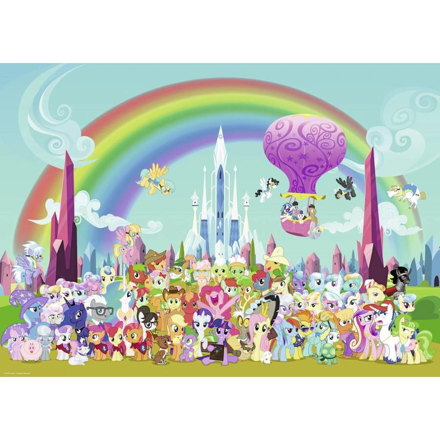 My Little Pony - Under the rainbow - puzzle of 1000 pieces-1