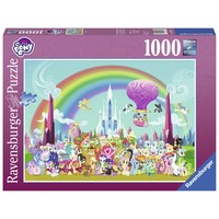 thumb-My Little Pony - Under the rainbow - puzzle of 1000 pieces-2