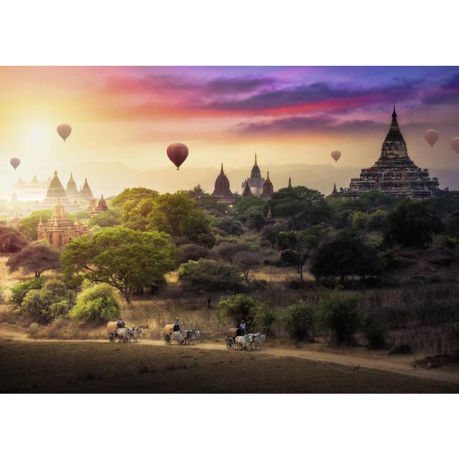 Ravensburger Hot air balloon above Myanmar - puzzle of 1000 pieces