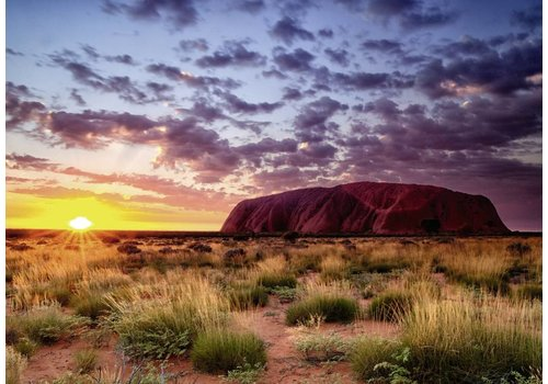 Ayers Rock - Australia - 1000 pieces