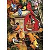 Cobble Hill Vogelhuisje in de herfst - puzzel van 1000 stukjes