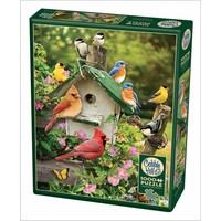thumb-Vogelhuisje in de zomer - puzzel van 1000 stukjes-2