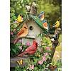 Cobble Hill Vogelhuisje in de zomer - puzzel van 1000 stukjes