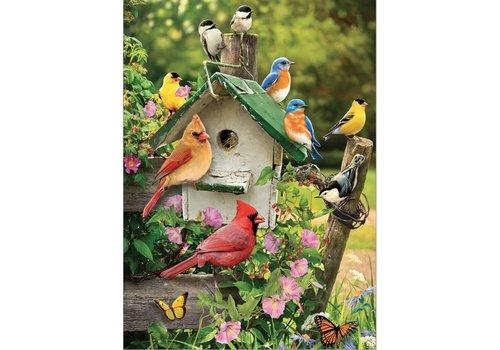 Vogelhuisje in de zomer - 1000 stukjes
