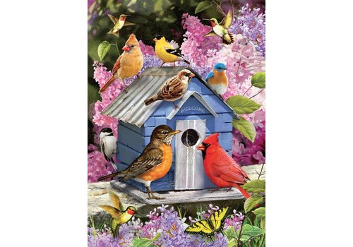 Spring Birdhouse - 1000 pieces