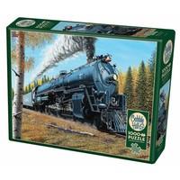 thumb-De trein Santa Fé 3751 - puzzel van 1000 stukjes-2
