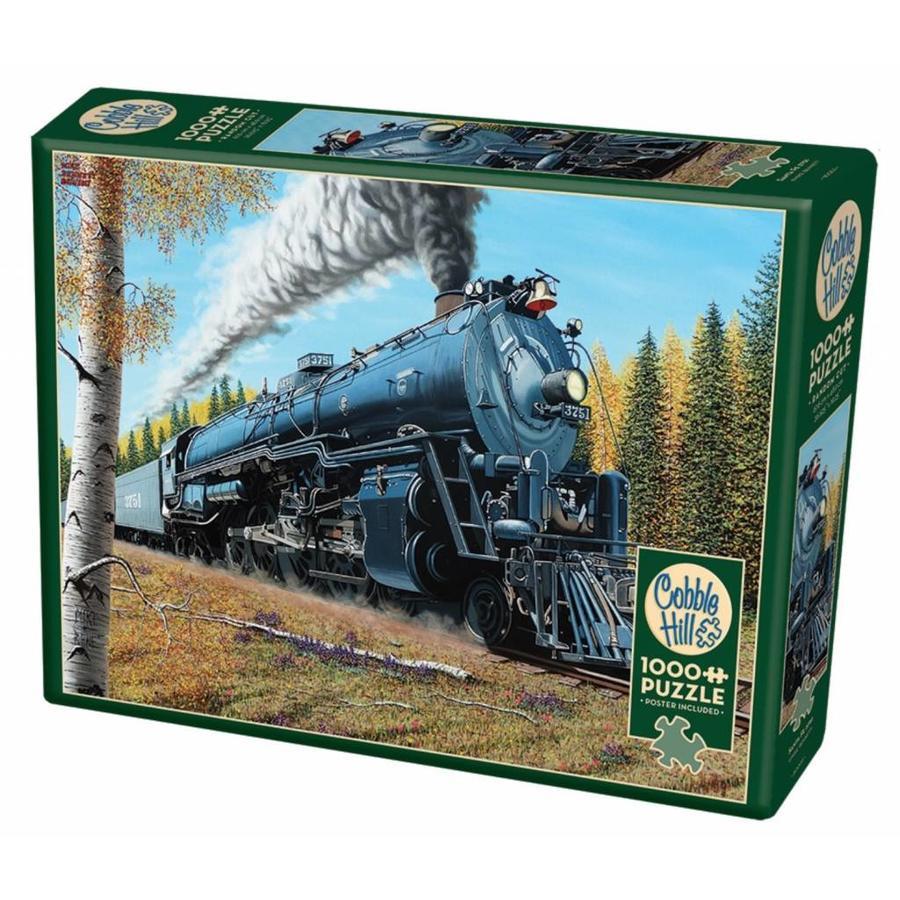 Le train Santa Fé 3751 - puzzle de 1000 pièces-2