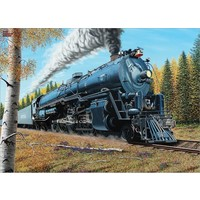 thumb-Le train Santa Fé 3751 - puzzle de 1000 pièces-1
