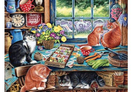 Kattenverblijf - 275 XXL stukjes