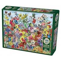 thumb-Jardin des papillons - puzzle de 1000 pièces-2