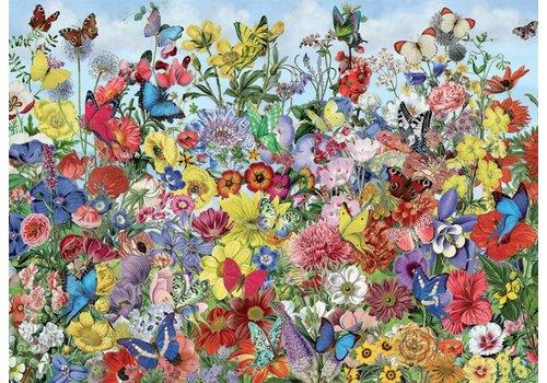 Vlindertuin - 1000 stukjes