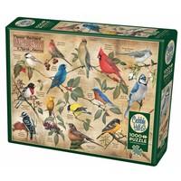 thumb-Vogels in de achtertuin - puzzel van 1000 stukjes-2