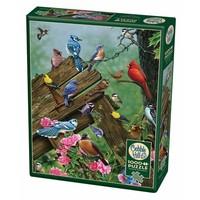thumb-Vogels uit het bos - puzzel van 1000 stukjes-2