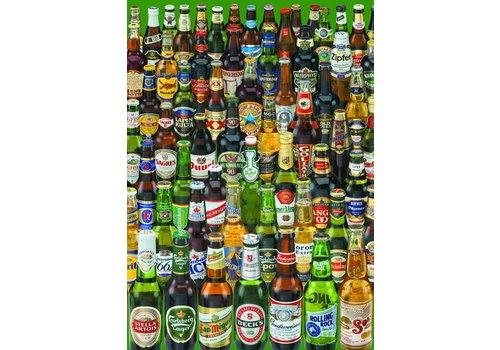 Educa Bier, heel veel bier - 1000 stukjes