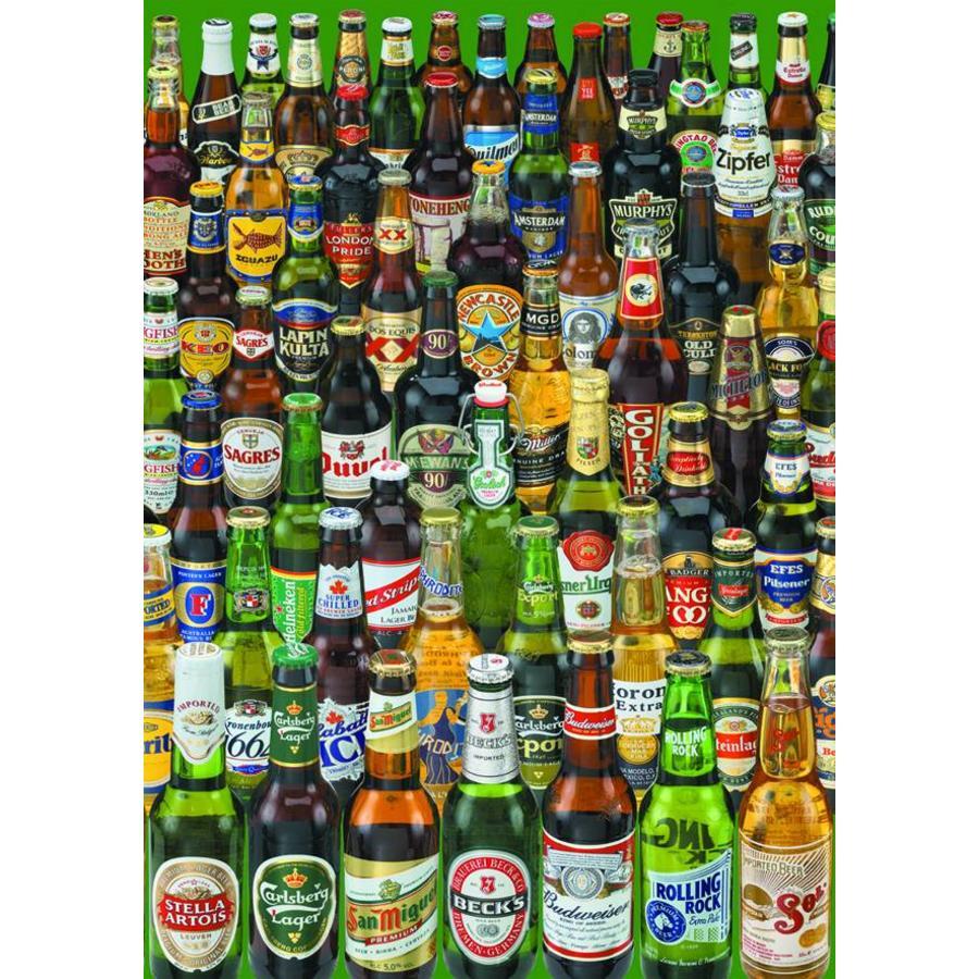 La bière, beaucoup de bière - 1000 pièces-1