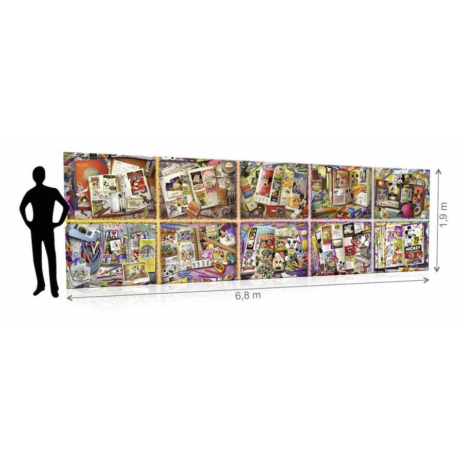Mickey Mouse  van 40000 stukjes (exact 40320 stukjes)-2