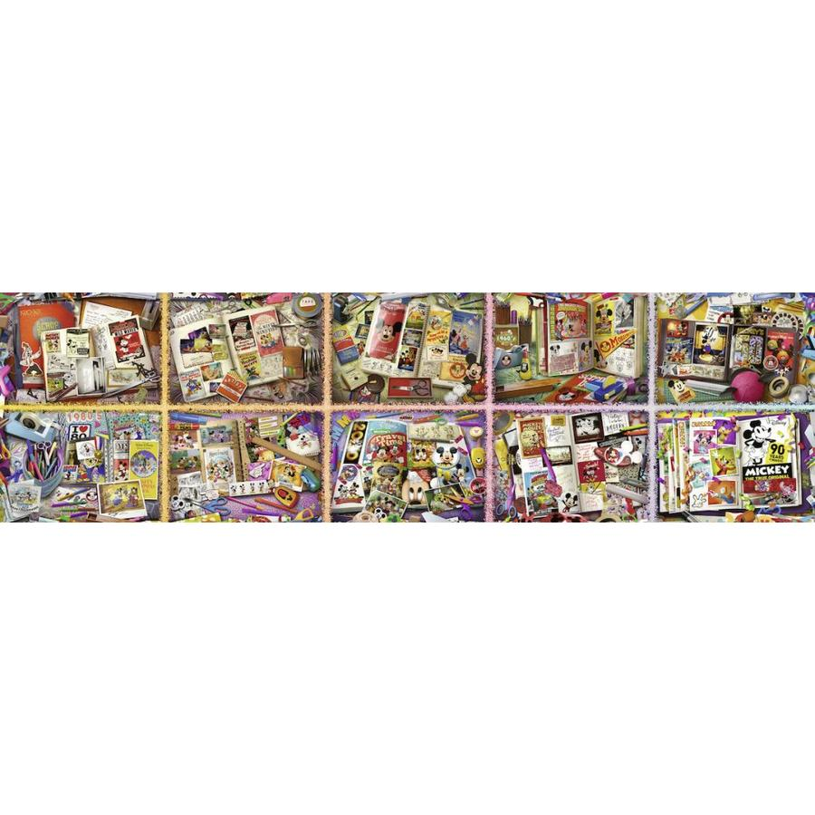 Puzzle of 40.000 pieces: Mickey Mouse (40320 pieces exactly)-3
