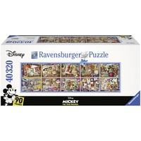 thumb-Puzzle of 40.000 pieces: Mickey Mouse (40320 pieces exactly)-1